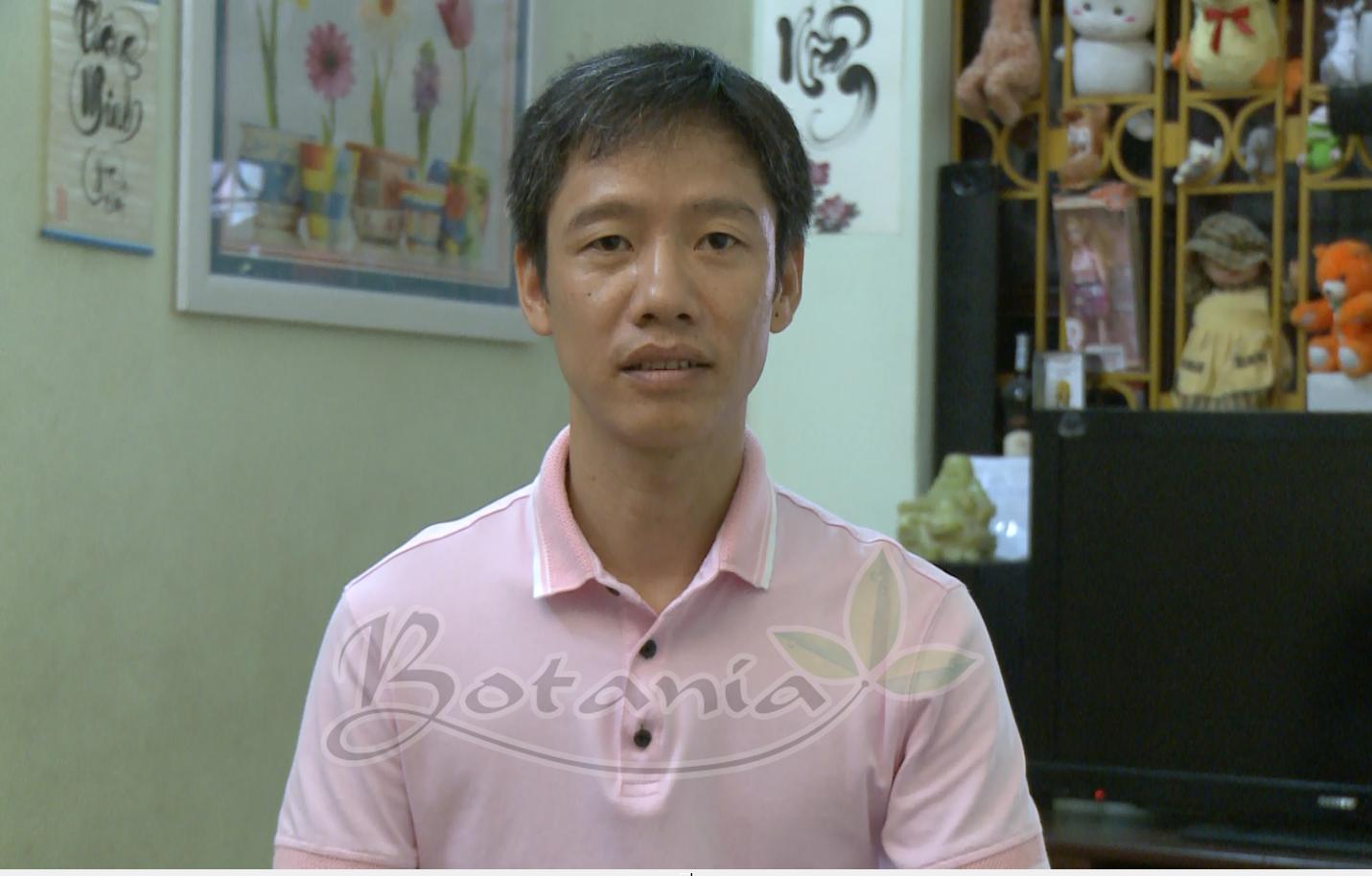 anh Trần Quang Tranh, 43 tuổi ở số 16, ngõ 81, phố Đức Giang, Long Biên, Hà Nội