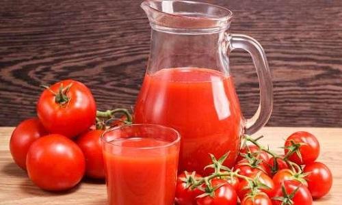 giải rượu bia bằng nước ép cà chua